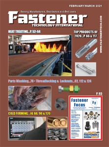 [Fastener industry magazine] The 50th anniversary interview article was published in the North American industry magazine