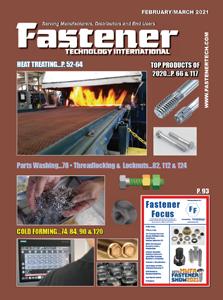 [ファスナー業界誌] 北米の業界誌「Fastener technology international」に50周年インタビュー記事が掲載されました